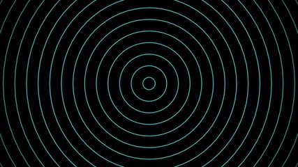 Radio waves background