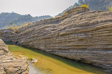 Gorge of Daan River, Taichung, Taiwan