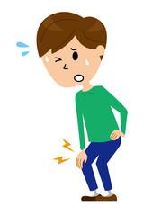 男性 膝の痛み