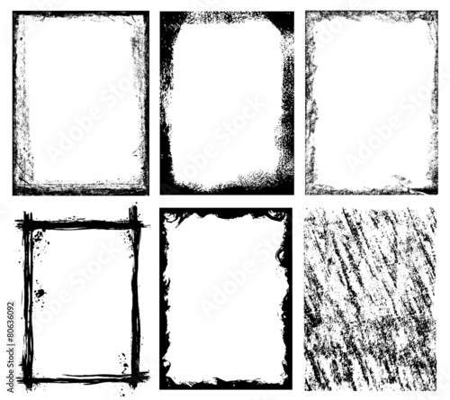 Frames and Textures - 80636092