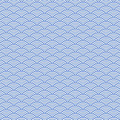 background pattern with blue waves