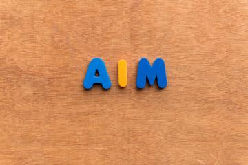 aim word