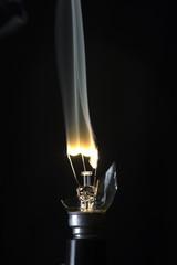 filamento de bombilla