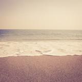 tropical sand beach vintage retro