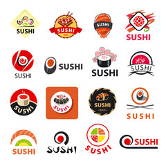 biggest collection of vector logos sushi