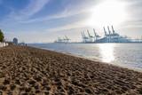 Hamburg Elbe Hafen Panorama