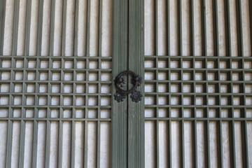Korea Traditional Door