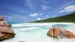 La Digue Beach Pan, Seychelles