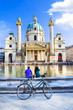 Vienna - famous St. Charle's church - 80639820