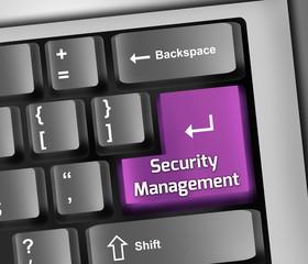 Keyboard Illustration Security Management
