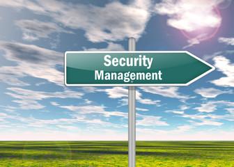 Signpost Security Management
