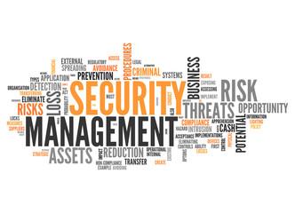 Word Cloud Security Management