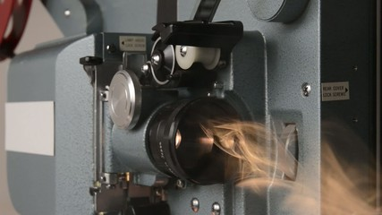 16 mm movie projector
