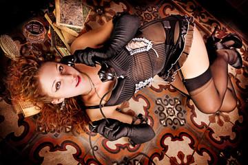 Burlesque Carnival Girl #5