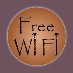 Free wifi - illustration