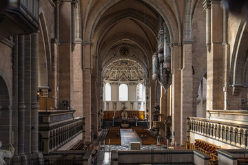 Trier cathedral organ, Germany