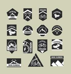 Tourism badges