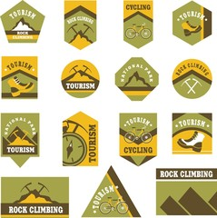 Tourism badges