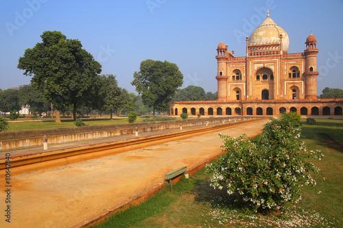 Aluminium Delhi Tomb of Safdarjung in New Delhi, India
