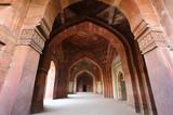 Interior of Qila-i-kuna Mosque, Purana Qila, New Delhi, India
