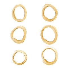 Gold circle set