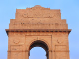 Close view of India Gate in New Delhi