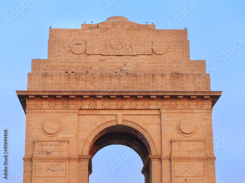 Staande foto Delhi Close view of India Gate in New Delhi