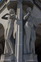 Architektur Objekt Frau