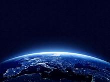 "Постер, картина, фотообои ""Earth at night"""