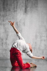 contemporary dancer