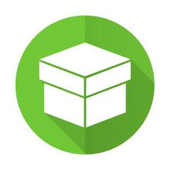 box green flat icon