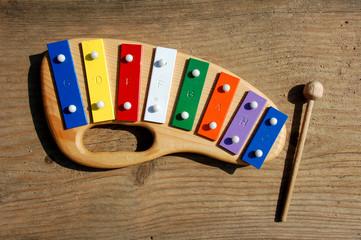 Xylophon Xylofon für Kinder