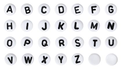 ABC Alphabet Letter buttons