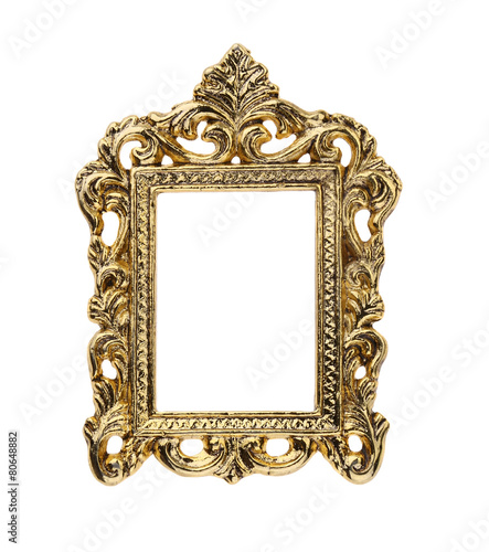 Gold Ornate Picture Frame   Buy Photos   AP Images   DetailView
