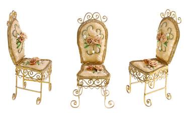 Victorian Gold Chair