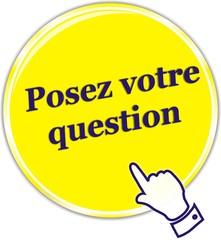 bouton posez votre question
