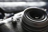 Retro camera, closeup