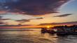 Sunset timelapse at Olhão. Algarve. Portugal