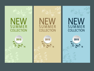 Banner summer collection 2015