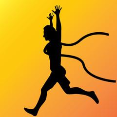 Running winner