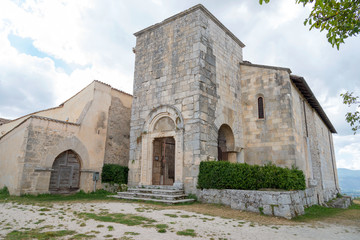 Church of St Peters of Alba Fucens, Abruzzo Italy