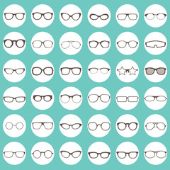 glasses icons