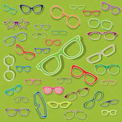 color glasses icons