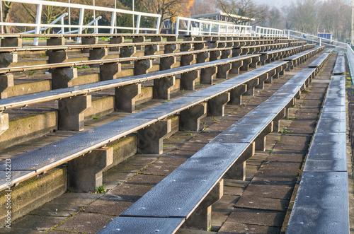 Foto op Canvas Stadion Sitzreihen