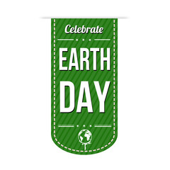 Earth day banner design
