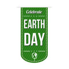 Earth day banner design