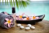 Fototapety Balinese spa setting