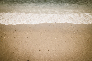 sand beach wave surf sea water vintage retro