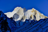 east face of mount Meru (6660 meters), Gharwal Himalaya