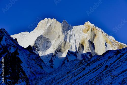 east face of mount Meru (6660 meters), Gharwal Himalaya - 80656602